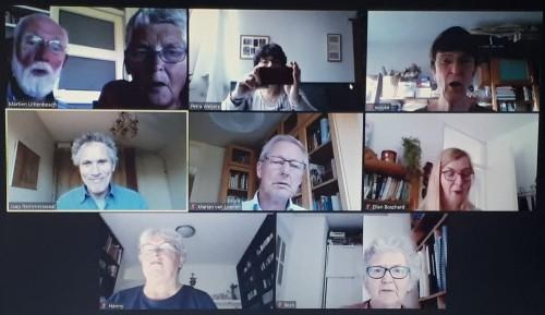 Virtual choir afbeelding
